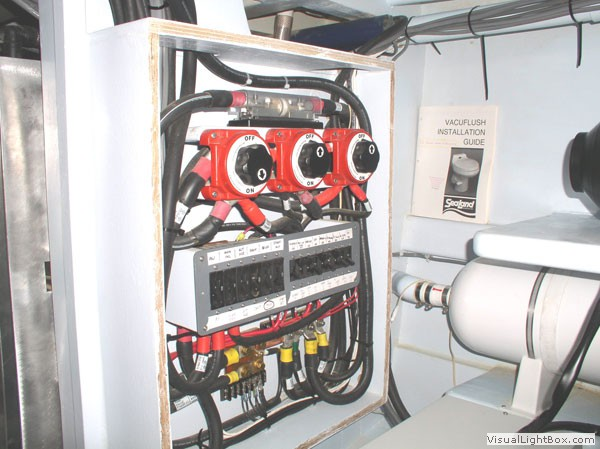 wiring diagram for boat switchboard wiring image ocean currents marine electric photo gallery on wiring diagram for boat switchboard